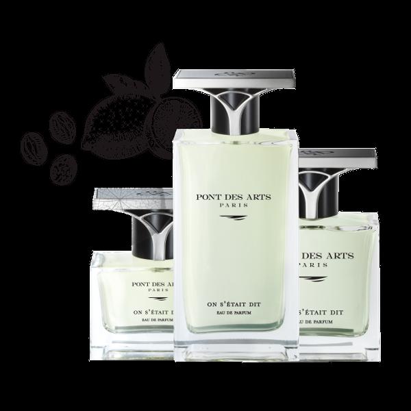 gamme parfum On s'était dit 100 ml de Pont des Arts Paris