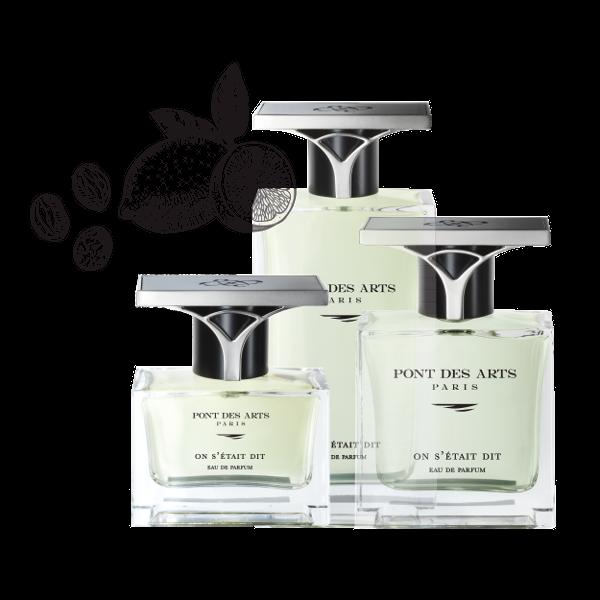 gamme parfum On s'était dit 30 ml de Pont des Arts Paris