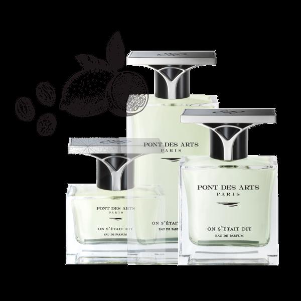 gamme parfum On s'était dit 50 ml de Pont des Arts Paris