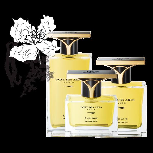 gamme parfum À ce soir 30 ml de Pont des Arts Paris