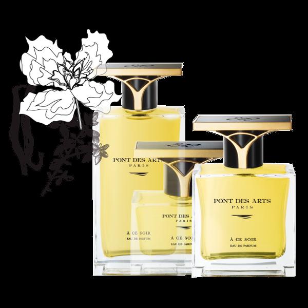 gamme parfum À ce soir 50 ml de Pont des Arts Paris