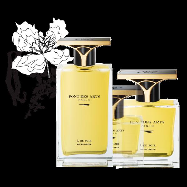 gamme parfum À ce soir 100 ml de Pont des Arts Paris