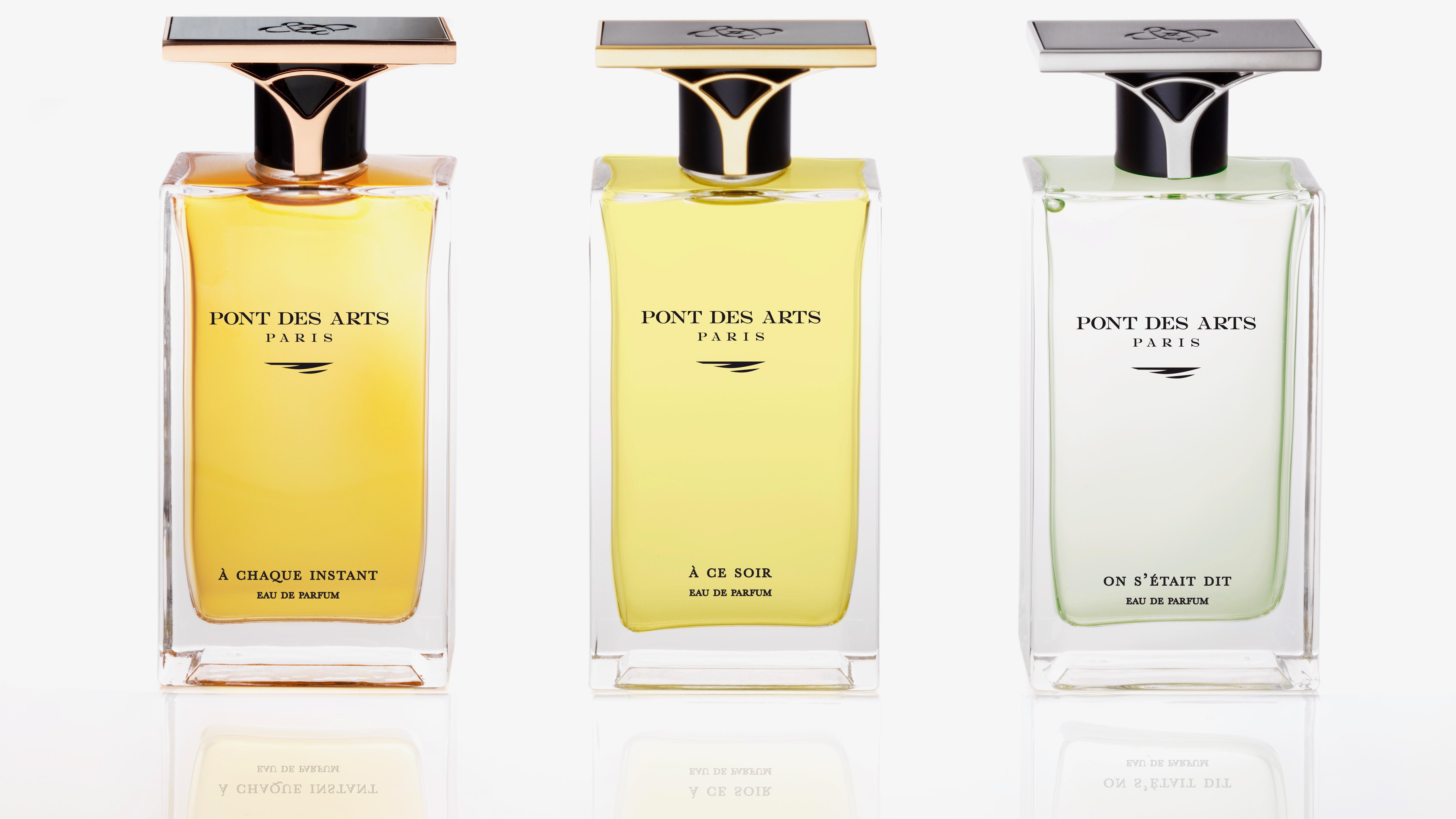 La collection de parfums d'auteurs Pont des Arts Paris