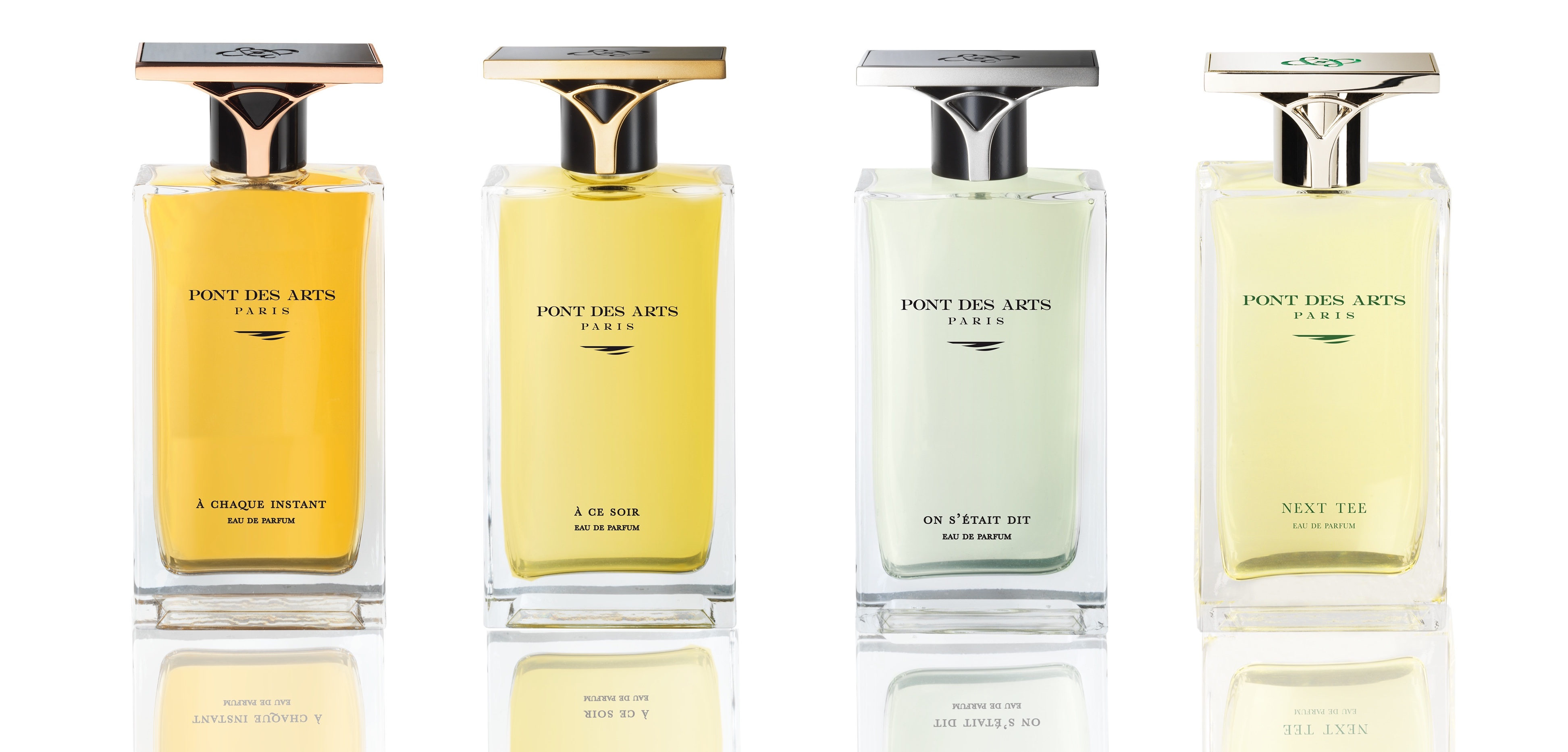 La collection de parfums d'auteurs Pont des Arts Paris